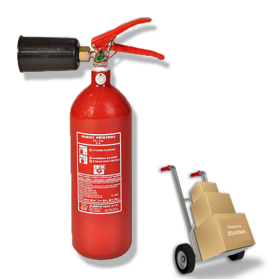 Sněhový hasicí přístroj - 2 Kg