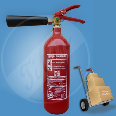 Sněhový CO2 hasicí přístroj 2 kg