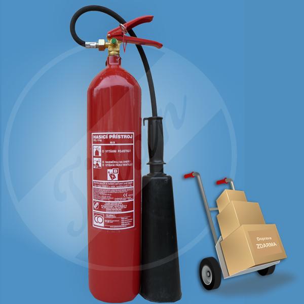 Práškový hasicí přístroj 6 kg 34A233B